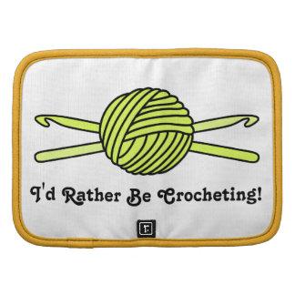 Yellow Ball of Yarn & Crochet Hooks Planners