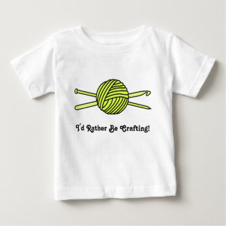 Yellow Ball of Yarn (Knit & Crochet) T Shirt