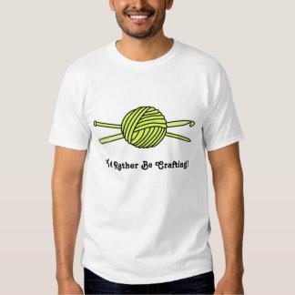 Yellow Ball of Yarn (Knit & Crochet) Tee Shirt