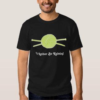 Yellow Ball of Yarn & Knitting Needles T-shirt