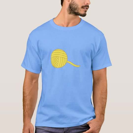 Yellow Ball of Yarn T-Shirt