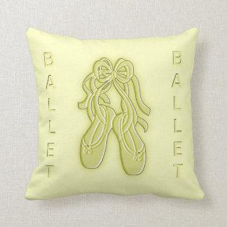 Yellow Ballet Slippers American Mojo Pillow Pillow