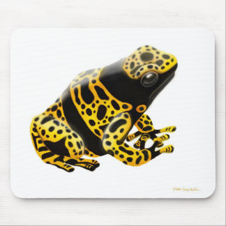 Yellow Banded Poison Dart Frog Mousepad