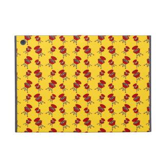 yellow barbeque pattern iPad mini case