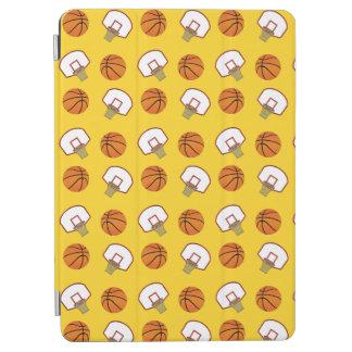 Yellow basketballs and nets iPad air cover