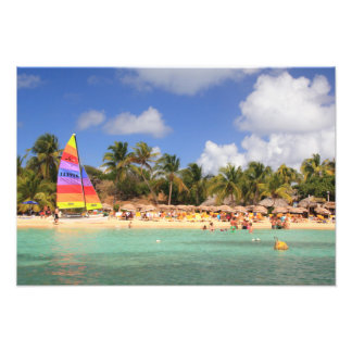 Yellow Beach at Isle Pinel, St. Martin Photo Print