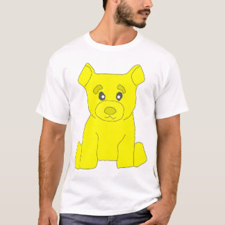 Yellow Bear Destroyed T-Shirt
