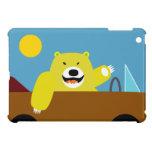 Yellow Bear iPad Case