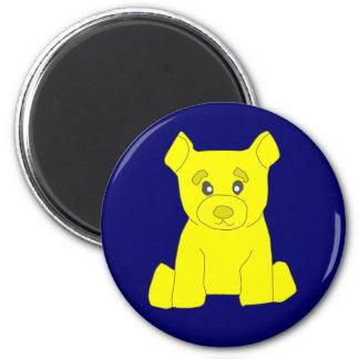 Yellow Bear Magnet