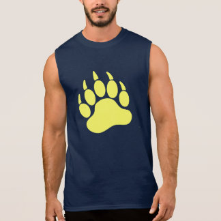 Yellow Bear Pride Bear Claw (L) Sleeveless Shirt