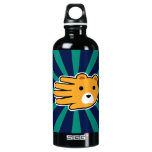 Hand shaped Yellow Bear Water Bottle