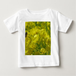 yellow bee 2 infant t-shirt
