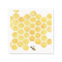 yellow bee napkins! napkin
