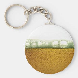 Yellow Beer Keychain