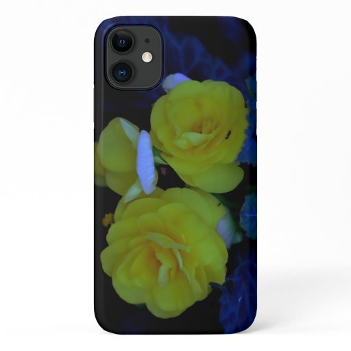 Yellow Begonia, Barely There iPhone 11 Case. iPhone 11 Case