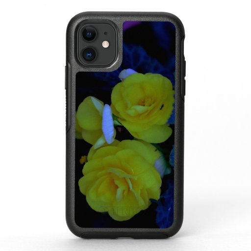 Yellow Begonia, Otterbox iPhone Case.