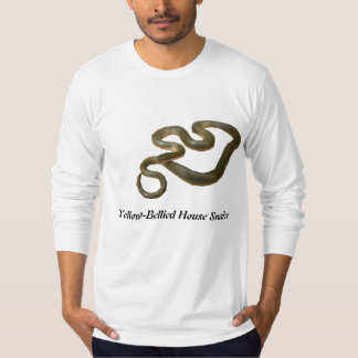 Yellow-Bellied House Snake American Apparel Long T-Shirt