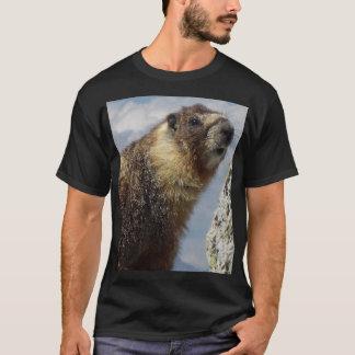 Yellow Bellied Marmot in Yosemite T-Shirt