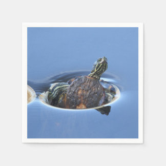 Yellow Bellied Slider Napkin