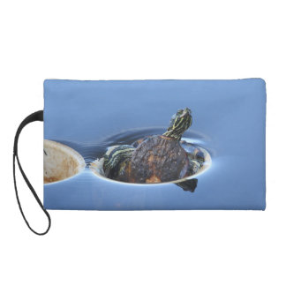 Yellow Bellied Slider Wristlet
