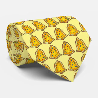 Yellow Bells Bell Cookie Christmas Xmas Tie