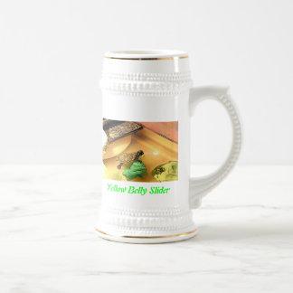 Yellow Belly Slider- Stein 18 Oz Beer Stein