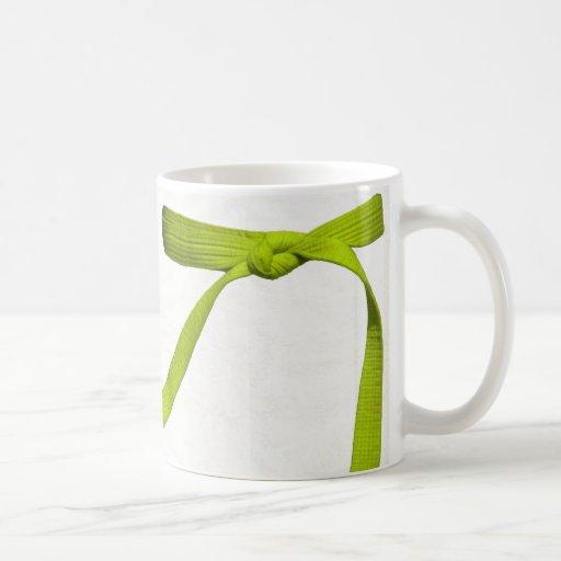 Yellow Belt Mug