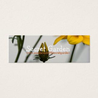 Yellow Bidens Mini Business Card