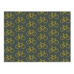 Yellow Bike Postales