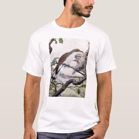 Yellow-billed Cuckoo and Tent Caterpillars T-Shirt