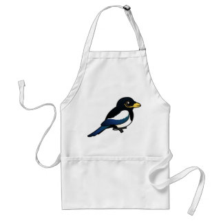 Yellow-billed Magpie Adult Apron