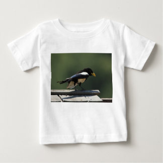 Yellow Billed Magpie Baby T-Shirt