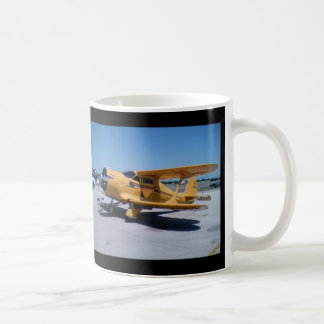 Yellow Biplane Coffee Mug