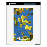 Yellow Birch Leaves Skins For NOOK Color