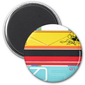 Yellow bird 2 inch round magnet