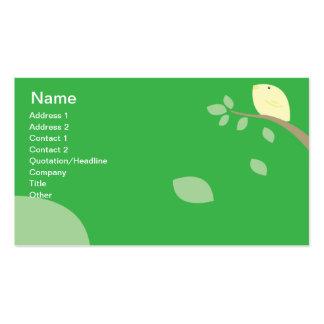 Yellow Bird - Business Business Card