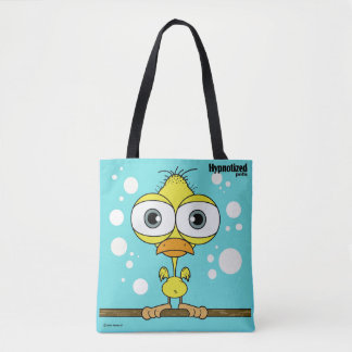 Yellow Bird Custom All-Over-Print Tote Bag