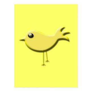 Yellow Bird Gifts Postcard