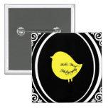 Yellow Bird Photography Button