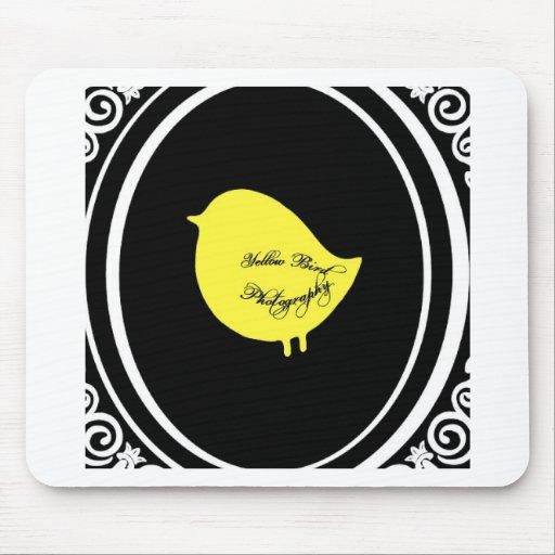 Yellow Bird Photography Mousepad