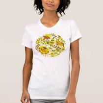 Yellow Birds Hohloma T-Shirt