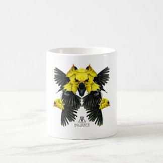 Yellow birds mug