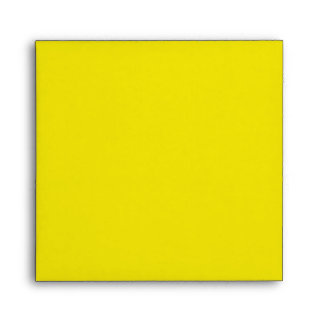 Yellow, Black, and White Invitation Envelope