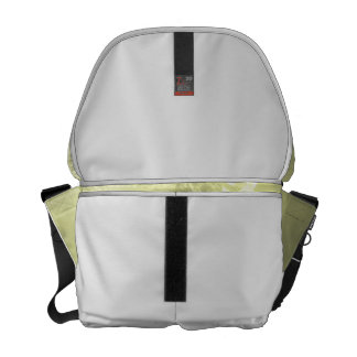 yellow black butterfly yellow fade head on wings messenger bag