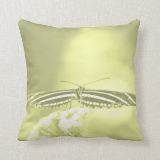 yellow black butterfly yellow fade head on wings pillows