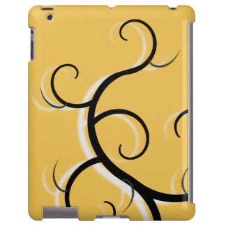 Yellow & Black Creeping Vine Effect Protector