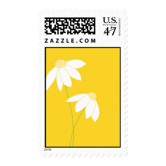 Yellow Black Eyed Susan by Delphine Postage Stamp