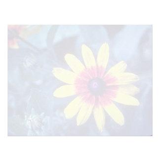 yellow Black Eyed Susan (Rudbeckia Hirta) flowers Customized Letterhead