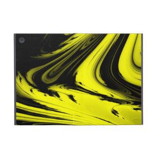 Yellow Black Marble iPad Mini Powis iCase Cover For iPad Mini