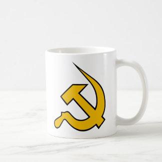 Yellow & Black Neo-Hammer & Sickle Coffee Mug